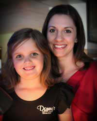 Jaci and Brielle working together at Donny's Girl Supper Club