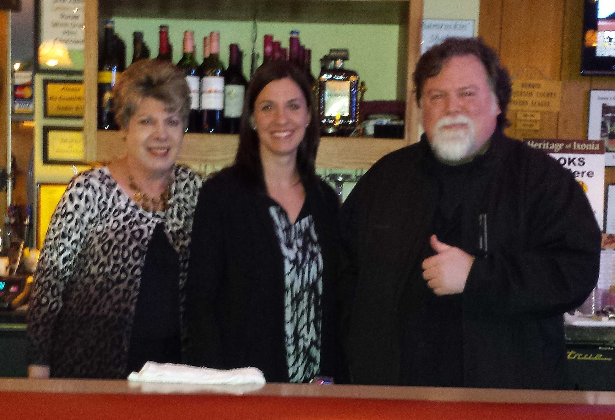Ron Faiola, Wisconsin Supper Club author and documentary producer, visits Donny's Girl Supper Club, Pipersville, WI