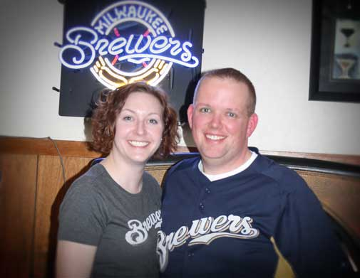No better place to watch the Brewers than Donny's Girl Supper Club