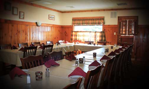 Donny's Girl Supper Club has a banquet room for